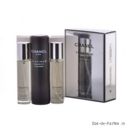 "Chanel ""Platinum Egoiste"" Twist & Spray 3х20ml men"