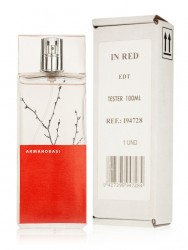 In Red (Armand Basi) 100ml women TESTER Made in Italy