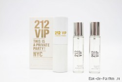 "Carolina Herrera ""212 VIP"" Twist & Spray 3х20ml women"