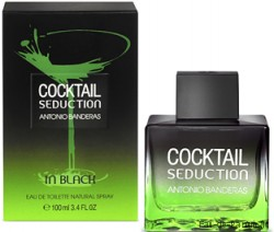 "Cocktail Seduction in Black ""Antonio Banderas"" 100ml MEN"