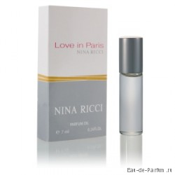 Love in Paris (Nina Ricci) 7ml. (Женские масляные духи)