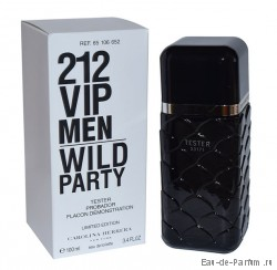 "212 VIP Men Wild Party ""Carolina Herrera"" 100ml (ТЕСТЕР Made in France)"