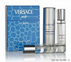 "Versace ""Versace Man Eau Fraiche"" Twist & Spray 3х20ml men"