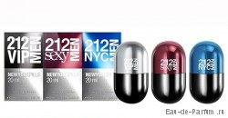 Набор 212 NYC PILLS men (Carolina Herrera) 3x20ml