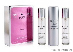 "Givenchy ""Play for Her"" Twist & Spray 3х20ml women"