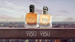 Stronger With You men 100ml and Because IT'S YOU women 100ml (Giorgio Armani)
