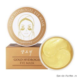 Патчи для глаз GOLD HYDROGEL eye mask shangpree 60шт