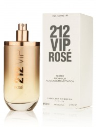 212 VIP Rose women (Carolina Herrera) 80ml (ТЕСТЕР Made in France)