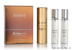 "Baldessarini ""Ambre"" Twist & Spray 3х20ml men"