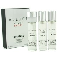 "Chanel ""Allure Homme Sport"" Twist & Spray 3х20ml men"
