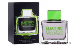 "Electric Seduction In Black ""Antonio Banderas"" 100ml MEN"