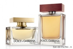 The One Man 100ml and The One 75 ml (Dolce&Gabbana)